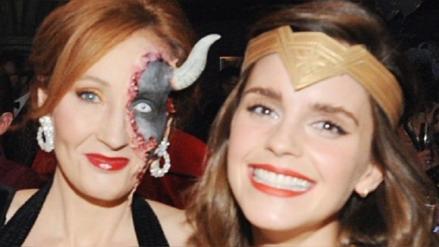Este fue el emotivo saludo de Emma Watson a J.K. Rowling por su cumpleaños