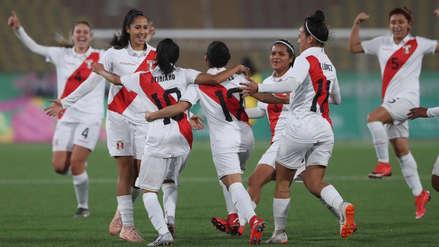 ¡Golazo! Steffani Otiniano anotó el primer gol de Perú en el partido ante Costa Rica en los Juegos Panamericanos