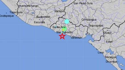 Un fuerte sismo de magnitud 6.0 sacudió El Salvador