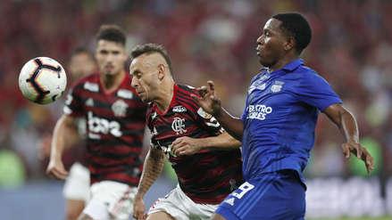 Sin Trauco, Flamengo venció 4-2 Emelec en la tanda de penales y avanzó a cuartos de final de la Libertadores