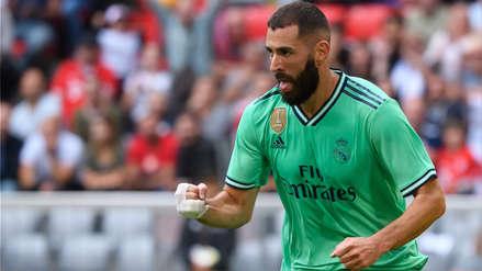 Real Madrid ganó 5-3 a Fenerbahce con triplete de Karim Benzema por la Audi Cup