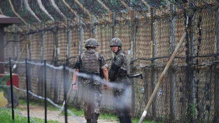 Un soldado norcoreano cruza la frontera para desertar a Corea del Sur