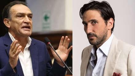 El congresista Héctor Becerril responde a César Ritter y lo reta a un nuevo examen toxicológico