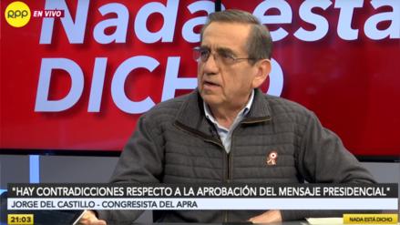 Jorge del Castillo responde a Del Solar: