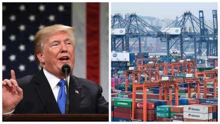 Donald Trump impone nuevos aranceles a la importación de productos chinos
