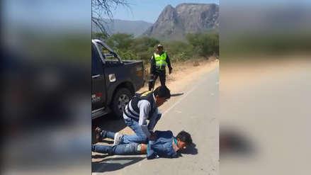 Capturan a delincuentes que secuestraron a chofer de tráiler para robarle minerales