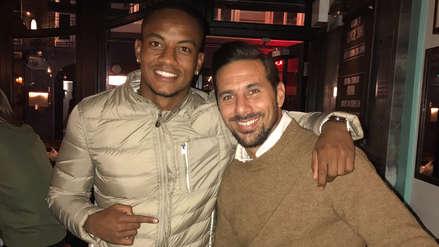 El 'troleo' de Claudio Pizarro a André Carrillo por jugar en la liga de Arabia Saudita