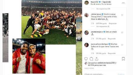 Así reaccionaron los compañeros de Miguel Trauco tras anunciar su salida de Flamengo