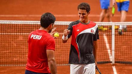 Juan Pablo Varillas y Sergio Galdos ganaron medalla de bronce en dobles masculino en los Juegos Panamericanos