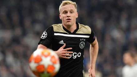 Real Madrid llegó a un acuerdo con Donny van de Beek y solo les falta negociar con Ajax, según Marca