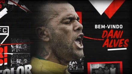 Dani Alves: conoce el inusual dorsal que lucirá en el Sao Paulo