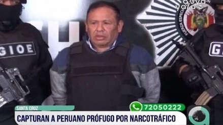 Peruano acusado de narcotráfico fue detenido en Bolivia y entregado al Perú