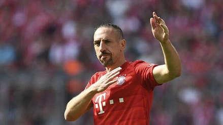 Franck Ribéry seguirá su carrera en Asia, según la prensa alemana