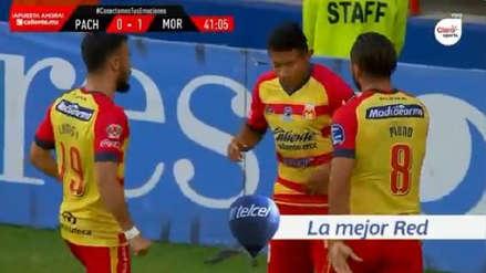 ¡'Orejas' volvió al gol! Edison Flores anotó el primer gol de Monarcas Morelia ante Pachuca
