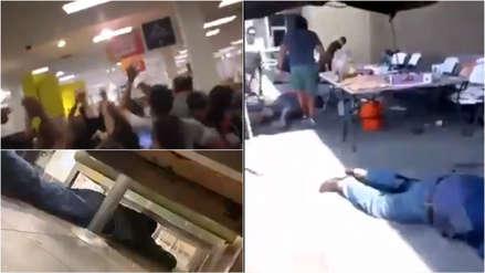 Los videos e imágenes del horror durante tiroteo en supermercado de Texas que dejó varios muertos