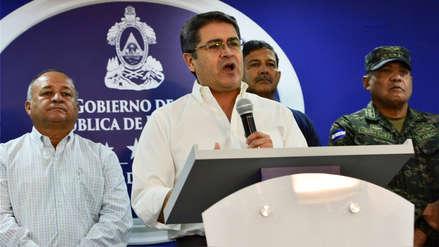 Presidente de Honduras niega haber usado dinero del narcotráfico en su campaña electoral