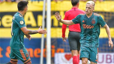 ¡El Real Madrid lo goza! Donny van de Beek se lució con gol y asistencia en debut de Ajax en la Eredivisie
