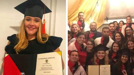 """""""¡Que se rinda tu abuelo!"""": La accidentada graduación universitaria de la nieta de un dictador"""