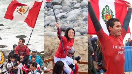 ¡En lo más alto! Perú sumó tres medallas de oro y tres de plata en el surf de los Juegos Panamericanos