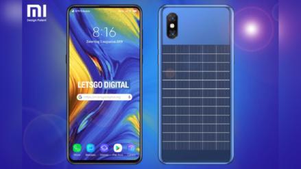 ¿Poder infinito? Xiaomi registra celular que funciona con energía solar