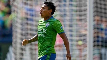 Raúl Ruidíaz se perdió su segundo partido seguido con Seattle Sounders por una contusión cerebral