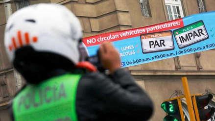 Pico y placa: Desde hoy multarán a quienes no acaten el plan vehicular