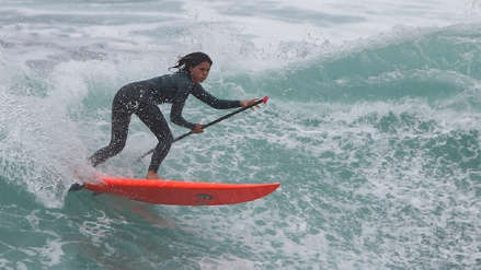 Lima 2019: Vania Torres no pudo en la final y se quedó con la medalla plata en paddle surf