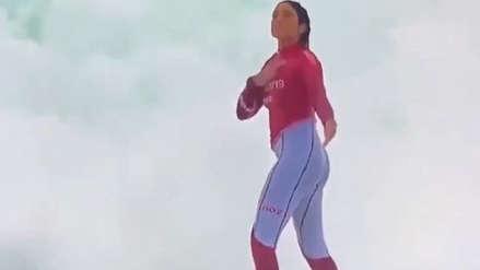 ¡Golpeándose el pecho! La peculiar celebración de Daniella Rosas tras ganar la medalla de oro en Lima 2019