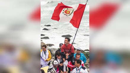 ¡El rey de las olas! ¡Piccolo' Clemente tras consagrarse campeón panamericano: