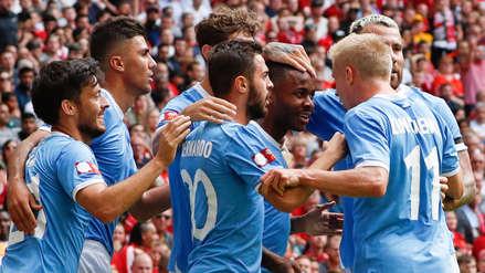 Manchester City ganó la Community Shield tras vencer en penales a Liverpool