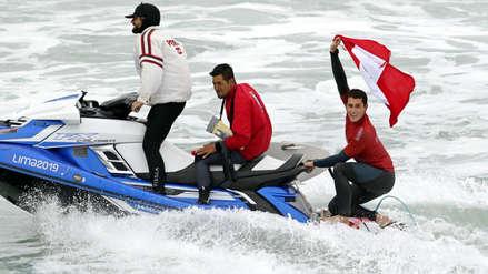 Vuelve a emocionarte con las imágenes del histórico triunfo peruano en el surf de los Juegos Panamericanos