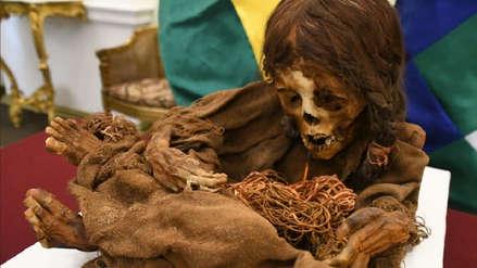 La momia de una niña inca de 8 años vuelve a Bolivia tras más de un siglo en Estados Unidos