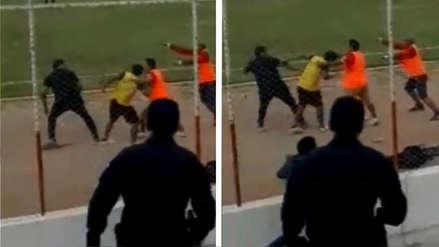 ¡Insólito! Técnico de Unión Huaral agredió a recogebolas en derrota ante Juan Aurich