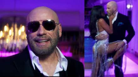 John Travolta une fuerzas con Pitbull y luce sus movimientos de baile en el videoclip