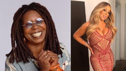 Whoopi Goldberg realiza un cruel comentario sobre el cuerpo de Mariah Carey y es criticada