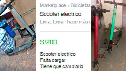 Facebook es usado para el inescrupuloso negocio de vender scooters eléctricos robados