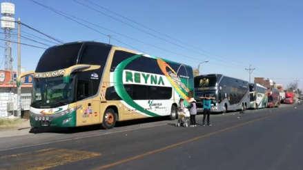 Tía María | Centenares de pasajeros afectados por bloqueo de la carretera Panamericana Sur