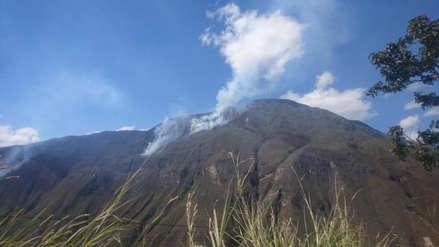 Ministerio de Cultura descartó que incendio cerca de Kuélap afecte el sitio arqueológico