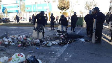 Tía María | Así atacaron a una unidad de transporte público en el inicio del paro indefinido en Arequipa [Video]