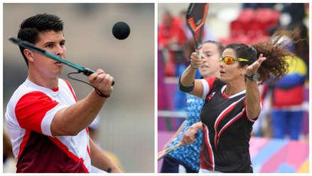 Peruanos Kevin Martínez y Claudia Suárez están imparables en paleta frontón de los Juegos Panamericanos