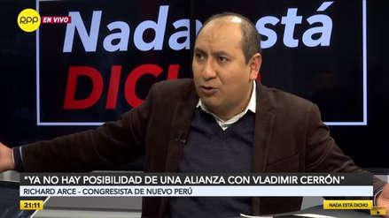 Nuevo Perú descarta alianza con Cerrón: