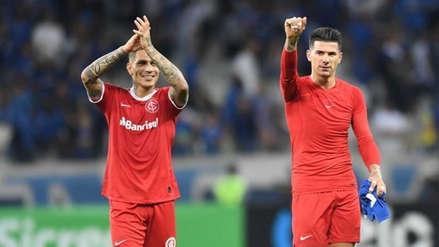 Internacional ganó 1-0 a Cruzeiro con un gran partido de Paolo Guerrero