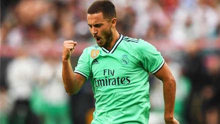 ¡Arrancó el 'Duque'! Eden Hazard anotó su primer gol con Real Madrid