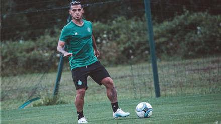 Miguel Trauco: así fue el primer entrenamiento con el Saint Etienne