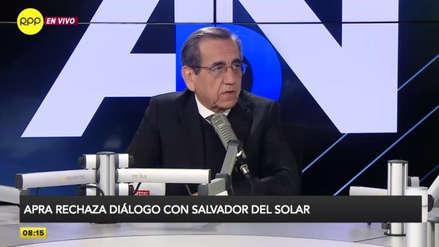 Del Castillo pide que Ejecutivo se reúna con todas las bancadas a la vez por adelanto de elecciones