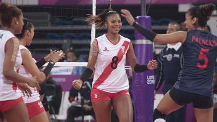 ¡Victoria blanquirroja! 14 imágenes del triunfo de la Selección Peruana de Voleibol en su debut en Lima 2019