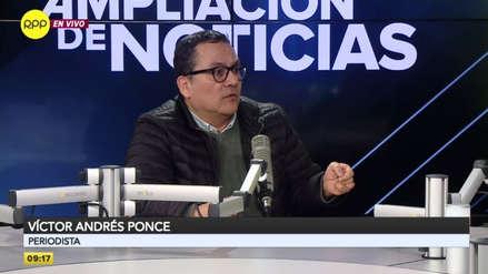 """Víctor Andrés Ponce negó haber recibido dinero de Odebrecht: """"Empezó la persecución de periodistas"""""""