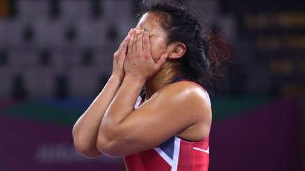 ¡Alegría pura! La emotiva celebración de Thalía Mallqui tras obtener la medalla de bronce en Lima 2019