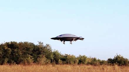 ¿Un platillo volador captado en video? Trabajo de ingenieros referencia a la ciencia ficción