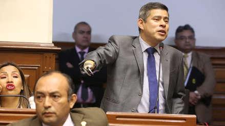Luis Galarreta denuncia